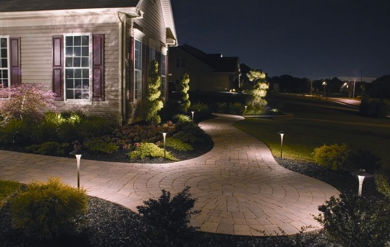 Outdoor Lighting Design Ideas make a dramatic entrance with stunning outdoor entrance lighting Pathway Lights Spotlights Water Feature Lighting The Illumination Of Your Landscape Will Improve