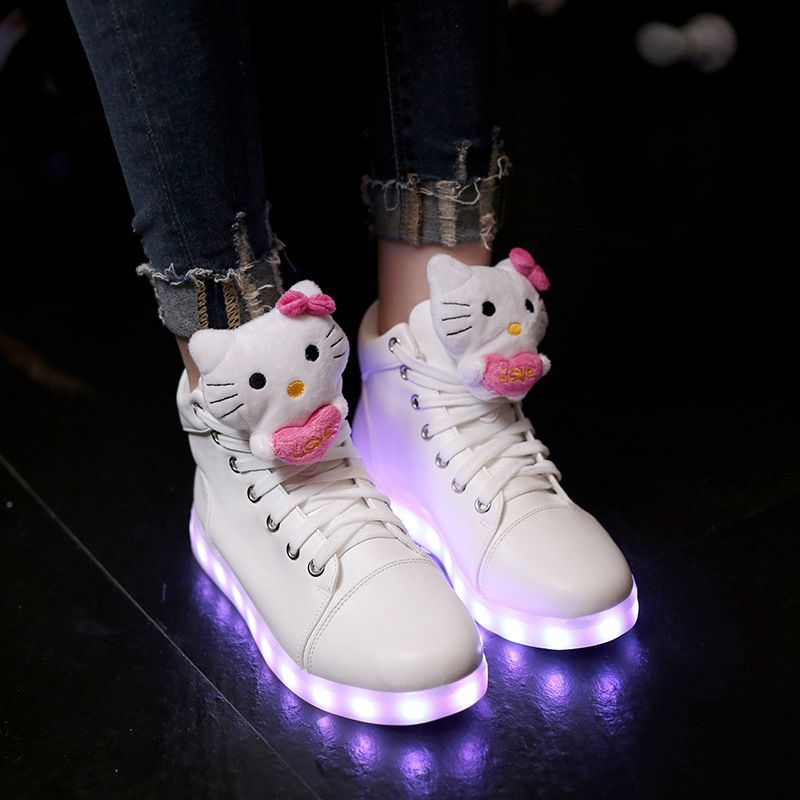 hello kitty light up sneakers