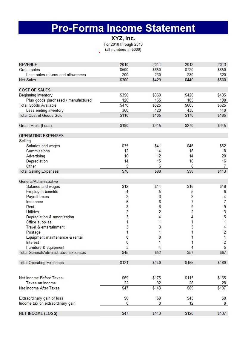 Top 3 Best Income Statement Template Printable For You You Calendars Income Statement Profit And Loss Statement Statement Template Annual profit and loss statement