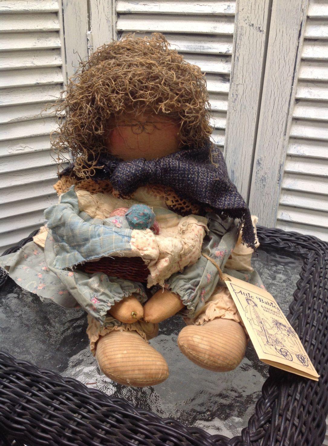 Vintage Attic Babies Granny Grunt Doll by Marty Maschino by GrandmaRietas onu2026 & Vintage Attic Babies Granny Grunt Doll by Marty Maschino by ...