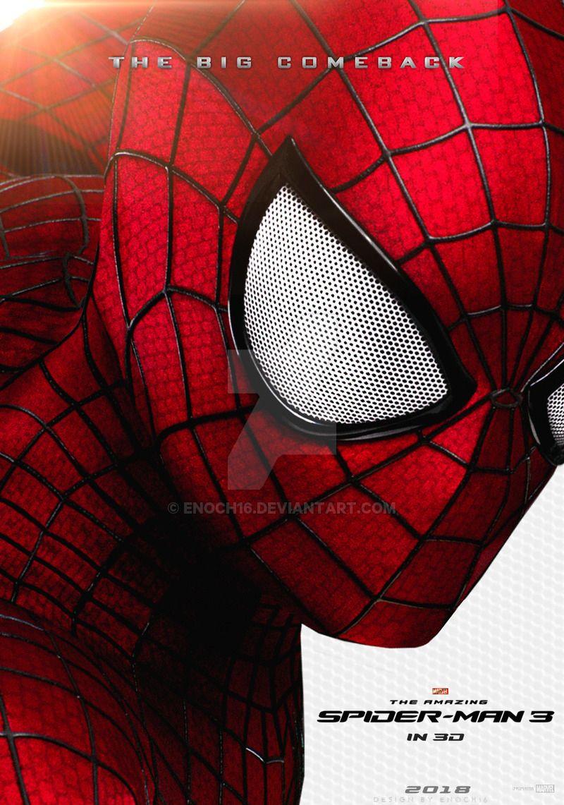 the amazing spider-man 3 (2018) posterenoch16 on deviantart