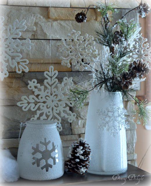 Winter Themed Christmas Decorations: Winter Home Decor, Christmas
