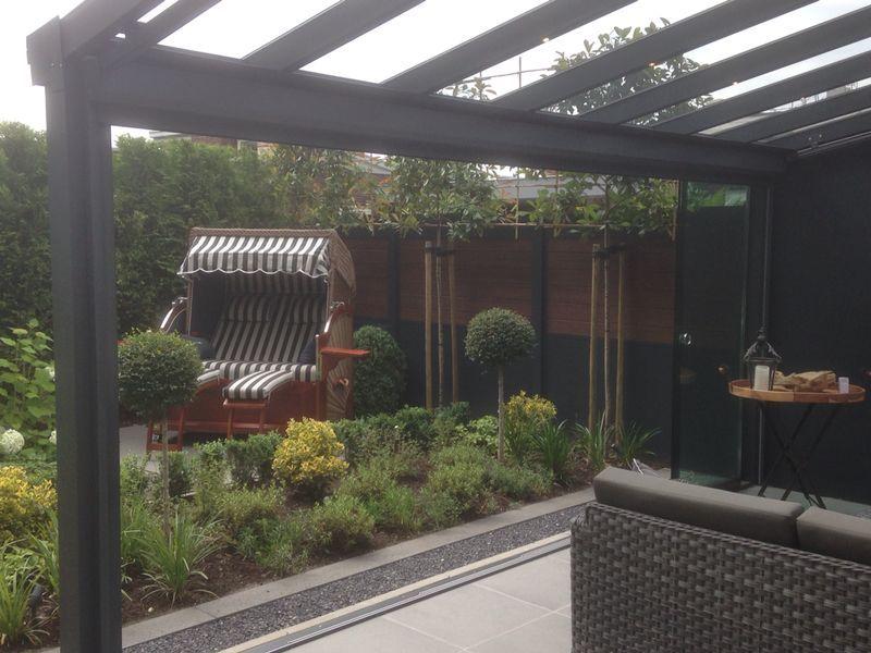 Ambiance #Ambiancevanleeuwen #vanleeuwen #SintMichielsgestel #glas - pool mit glaswand garten