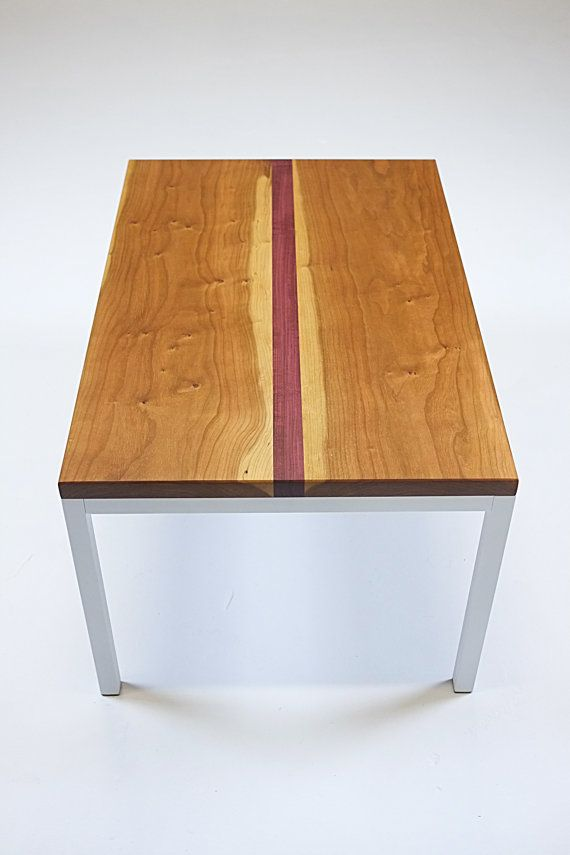 purple heart wood furniture. Coffee Table Cherry And Purple Heart Wood By MaxiMueller On Etsy Furniture T