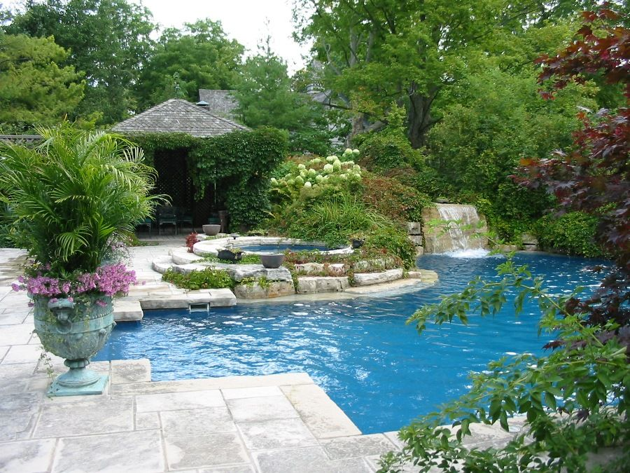 pools and landscaping ideas pictures Outdoor Living Pinterest