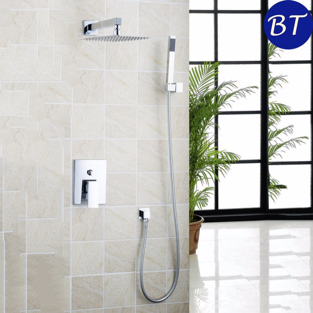 Yanksmart 10 Ultrathin Shower Head Bathroom Rain 50224 43b