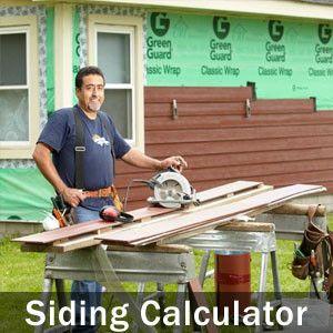 Siding Calculator House Siding Cost Siding Cost Cement Siding