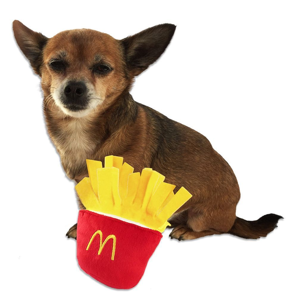 French Fry Fun Dog Toy For Little Dogs Best Dog Toys Dog Toys