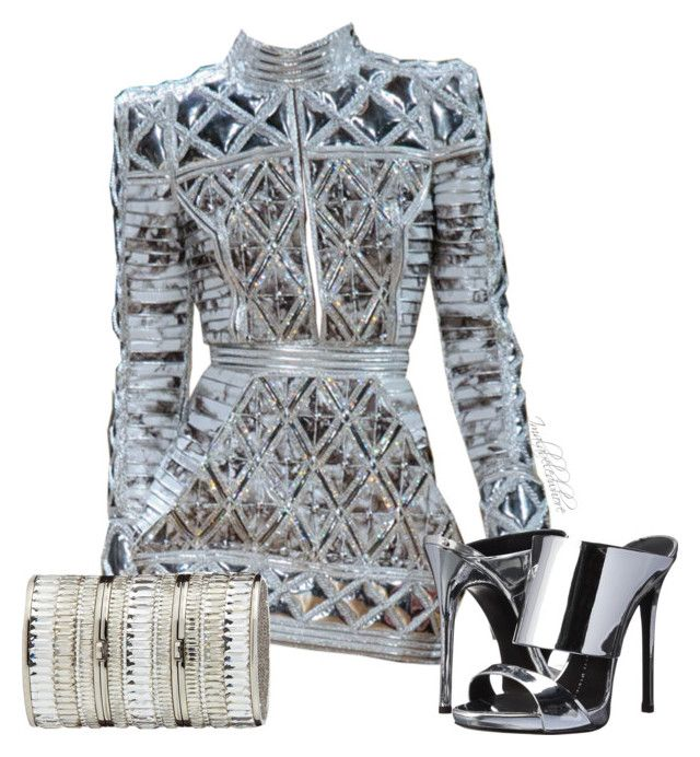 """""""Untitled #776"""" by styledbyjovon on Polyvore featuring Giuseppe Zanotti and Judith Leiber"""