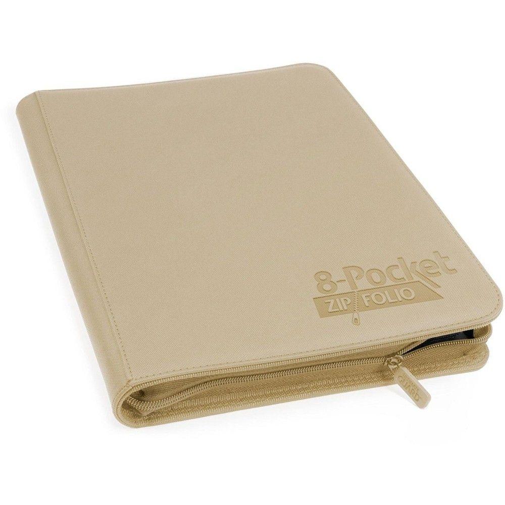 Ultimate Guard 4-Pocket XenoSkin ZipFolio Sand