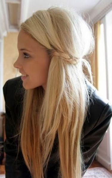 Cute-Simple-Easy-Hairstyle-for-Girls | Hair, Beauty & fitness ...