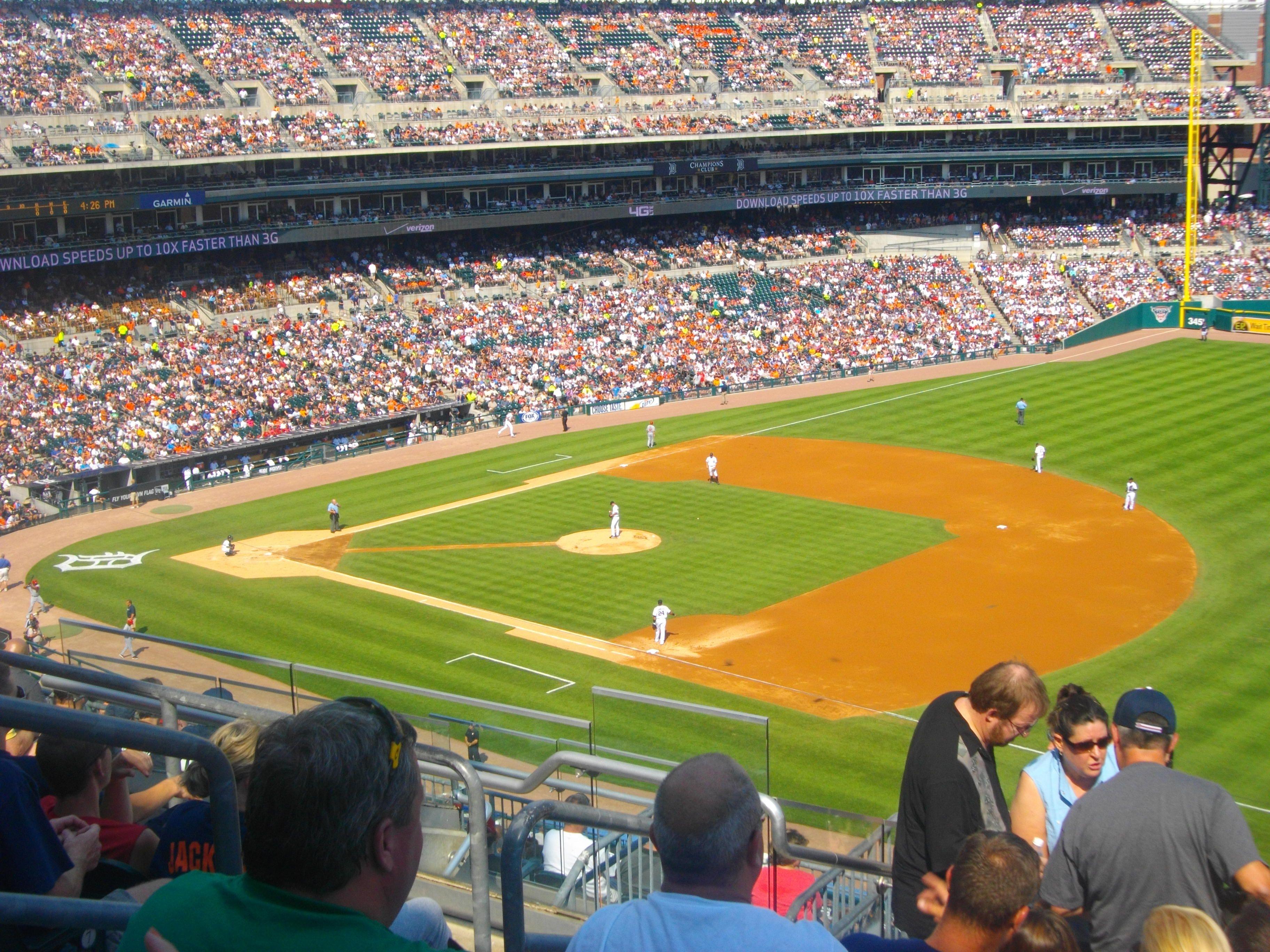Detroit Tigers Home Major League Baseball Stadiums Detroit Tigers Michigan Pride
