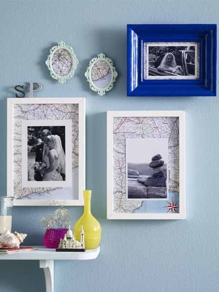 bilderrahmen selber machen alles im richtigen rahmen basteln pinterest bilderrahmen. Black Bedroom Furniture Sets. Home Design Ideas