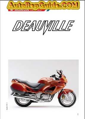download free honda nt650v deauville repair manual image by rh pinterest com