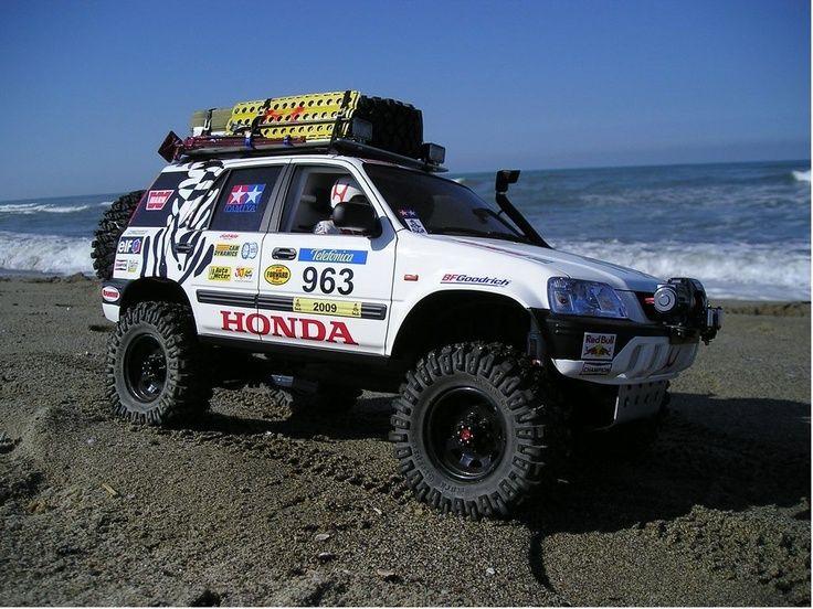 Honda crv rally