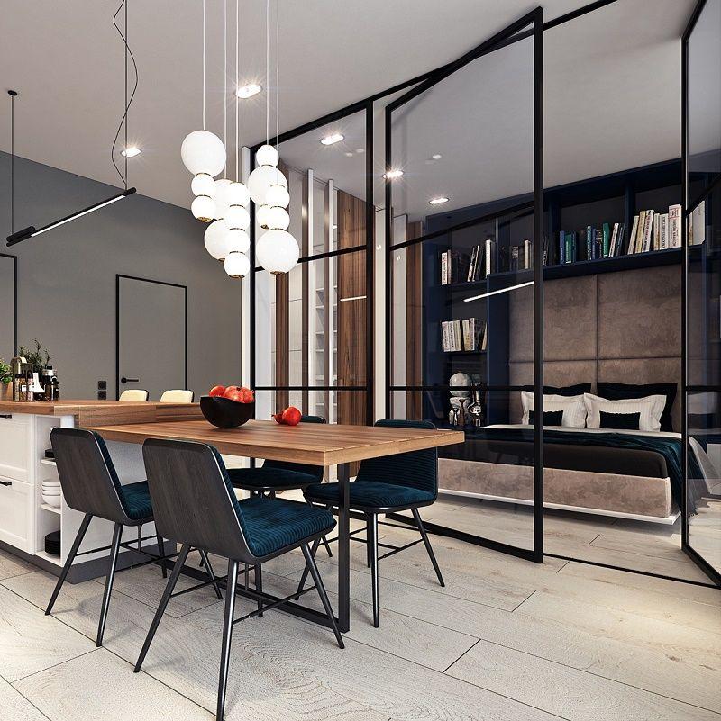 Voce Ja Pensou Em Morar Neste Apartamento Studio De 50m2 Com