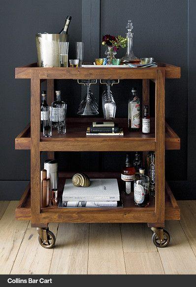 Bar Cart Crate And Barrel