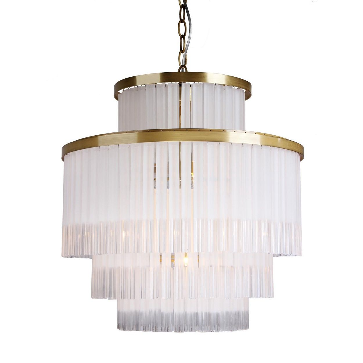 Awesome Hanging From A Gold Coloured Frame, It Features Tiered Glass Bars With A  Combination Of Clear And Frosted Finishes. Ideal For The Dining Room Or  Lounge, ... Amazing Ideas