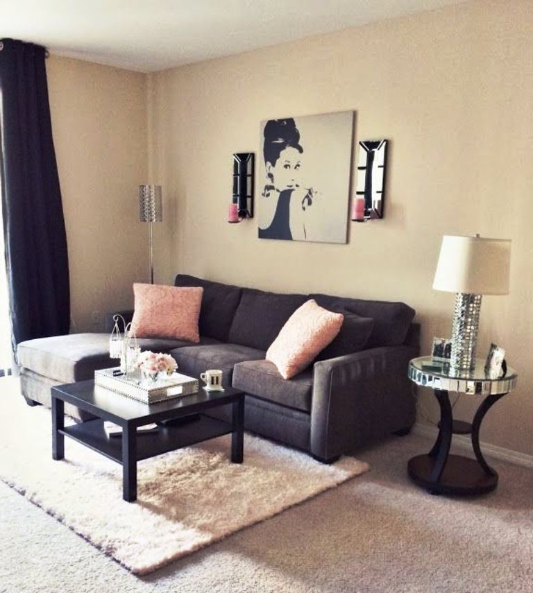 Cheap Small Living Room Ideas   Cute living room, Small ... on Awesome Apartment Budget Apartment Living Room Ideas  id=13717
