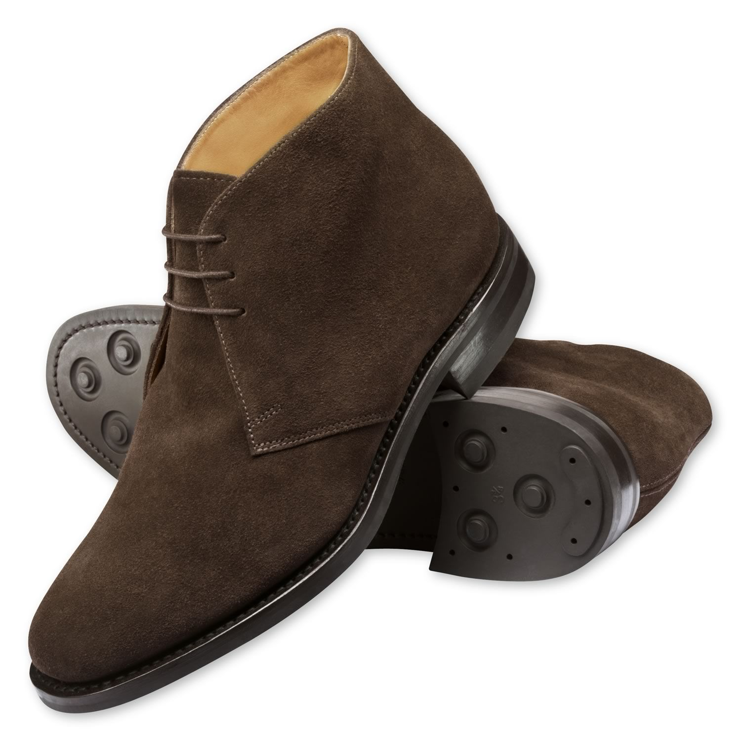 Brown suede Harwood chukka boots. Want. | The Ideal Male Shoe ...