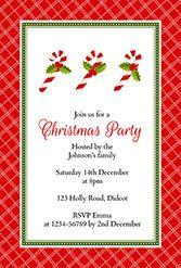 Free Christmas Party Invite Templates Christmas Invitations