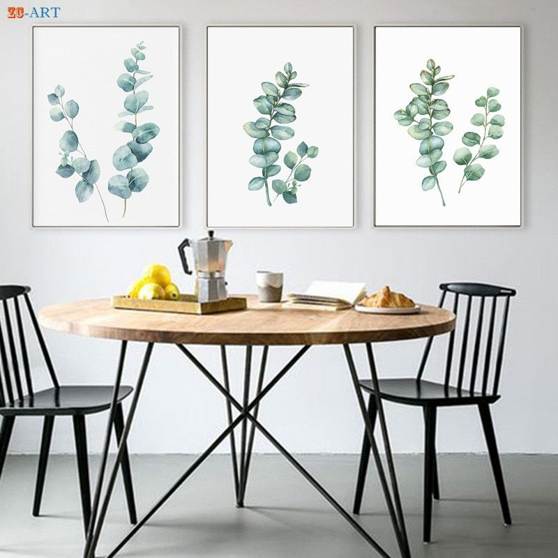 Funny Elephant On Tree Modern Minimalist Canvas Painting Wall Art Pictures Nordic Posters And Prints Home Decor Kids Room Decor Dining Room Art Minimalist Dining Room Dining Room Wall Art