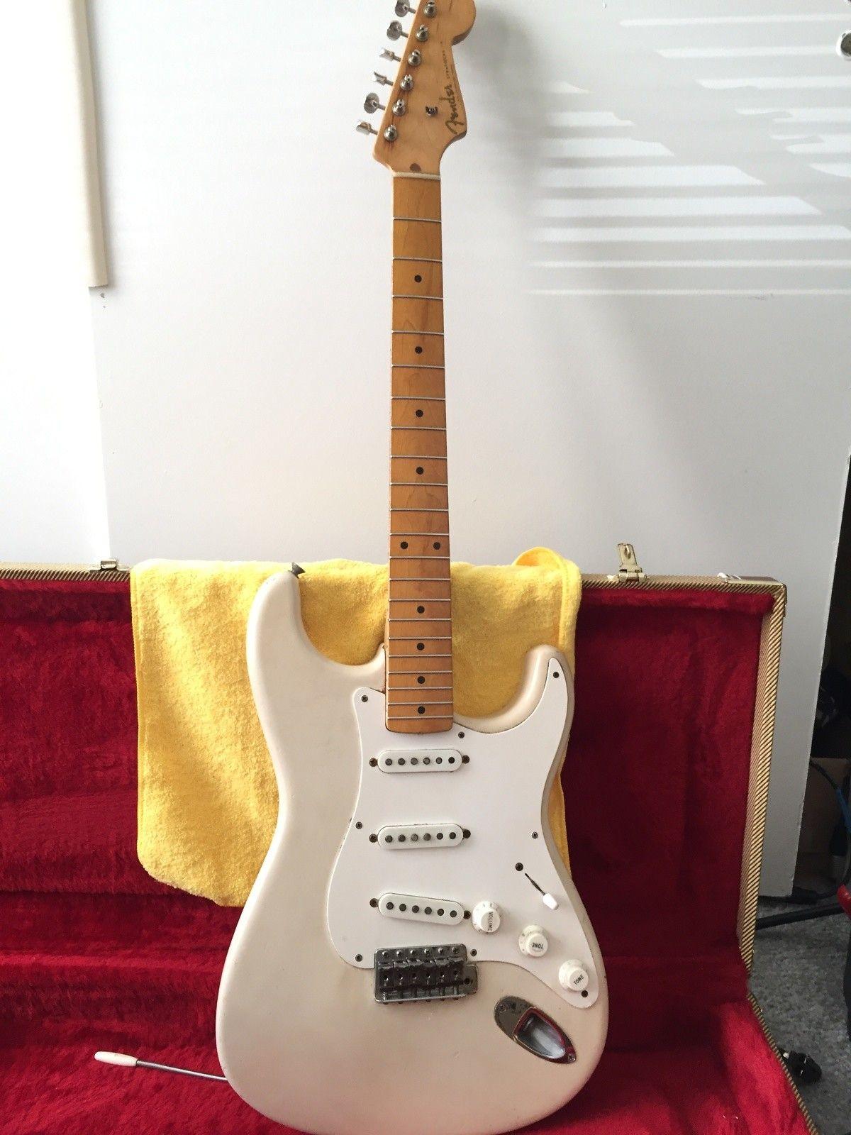 Original Fender Stratocaster 1959 Vintage White | Reverb