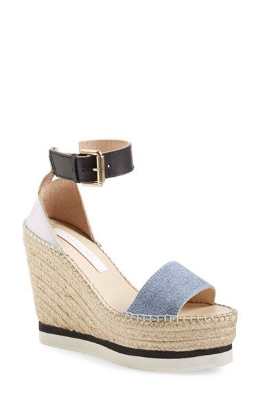 b7d221e6feb19 Love the See by Chloe collection! Check out these Glyn Espadrille Wedge  Sandals - 215.  Chloe  GiftMode