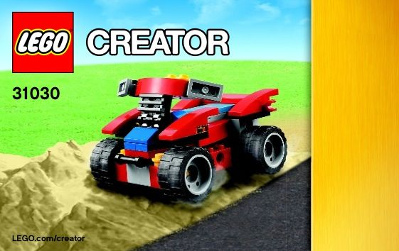 Creator Red Go Kart Lego 31030 Kruses Lego Directions In Pdf