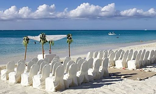 Beach ceremony at the regent palms in provo turks caicos destination beach wedding the regent palms turks caicos junglespirit Choice Image