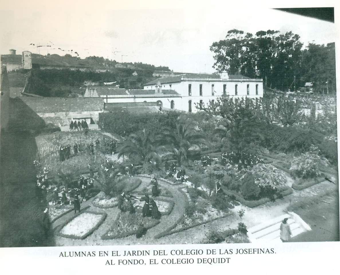 Josefina Y Colegio Dequidt Fotos Antiguas A Coruña Fotografia