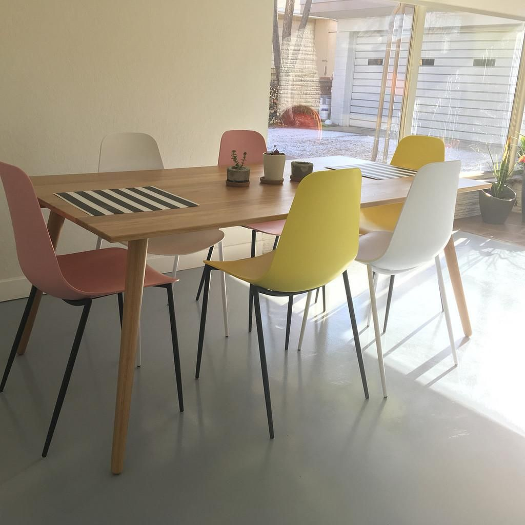 Svelti Daisy Yellow Dining Chair With Images Yellow Dining