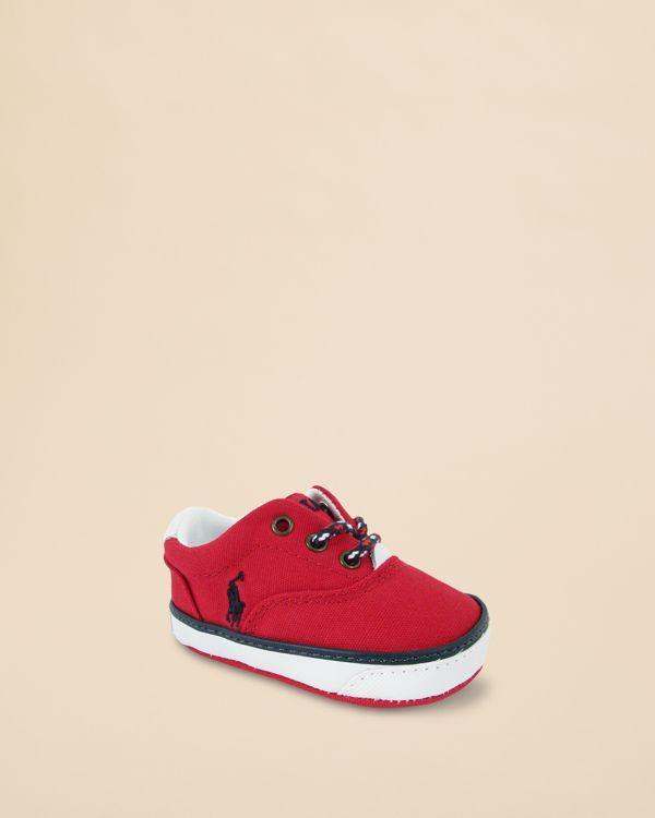 Ralph Lauren Infant Boys' Vaughn Ii Lace Up Sneakers - Baby
