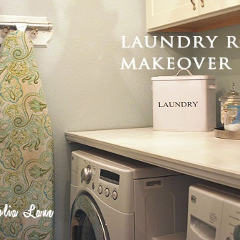 Installing A Diy Laundry Shelf Over Your Washer Dryer Laundry Room Diy Laundry Room Makeover Room Makeover