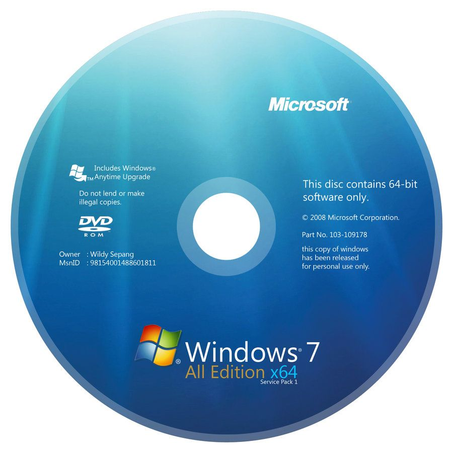 Windows 7 All Edition Dvd And License Windows Computer