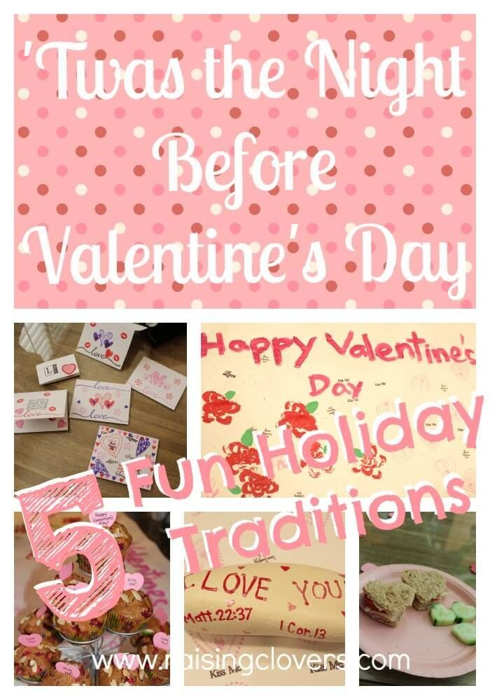 Twas The Night Before Valentine S Day Family