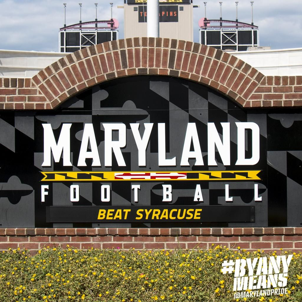 Maryland Football (With images) College football teams