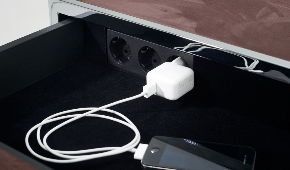 The Best Part About This German Furniture Company Is All The Pieces Have  Places To Plug