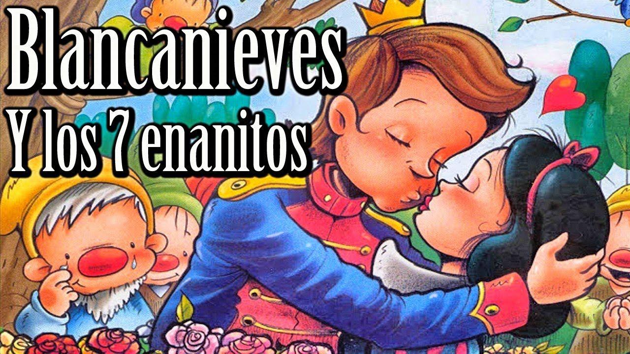 Blancanieves Y Los 7 Enanitos Cuentos Infantiles Clásicos Para Niños Escola