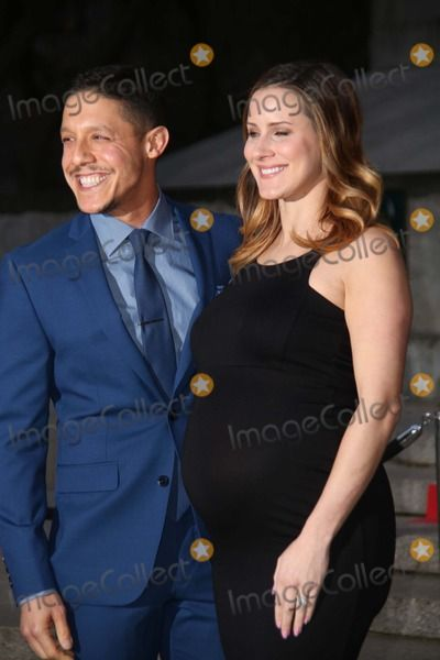 The 2015 Tribeca Film Festival Vanity Fair Party the State Supreme Courthouse, NYC April 14, 2015 Photos by Sonia Moskowitz, Globe Photos Inc Theo Rossi, Meghan Mcdermott