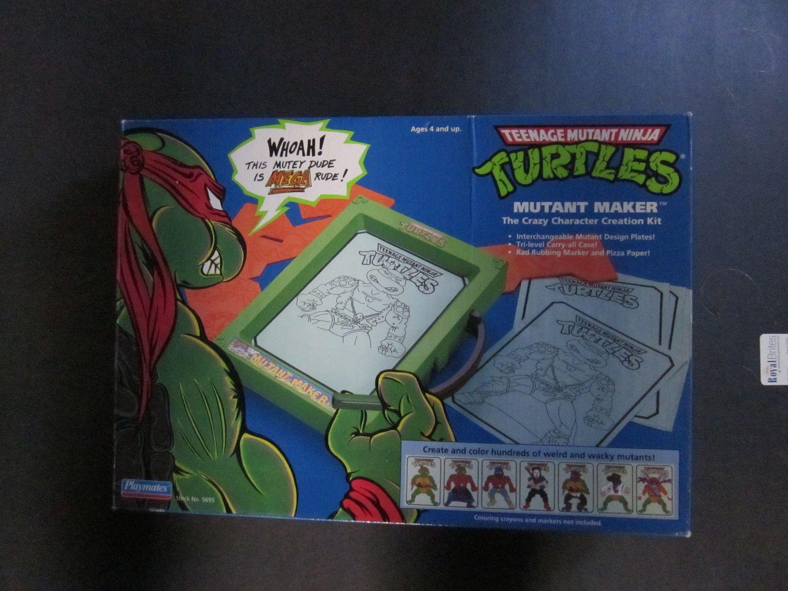 price slashed. TMNT Mutant Maker Crazy Character Creation Kit -- vintage 1990 | eBay