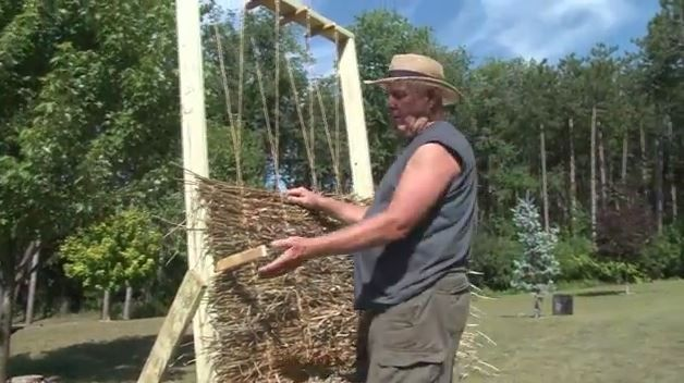 Making Grass Mats For Duck Blinds About Duck Hunting Duck Hunting Duck Blind Hunting