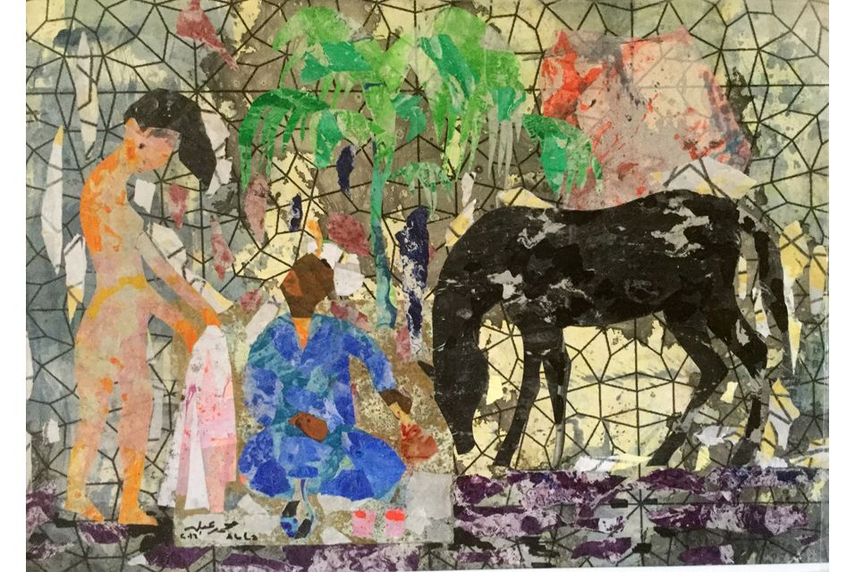 Safarkhan exhibits works by Egyptian artist Mohamed Abla