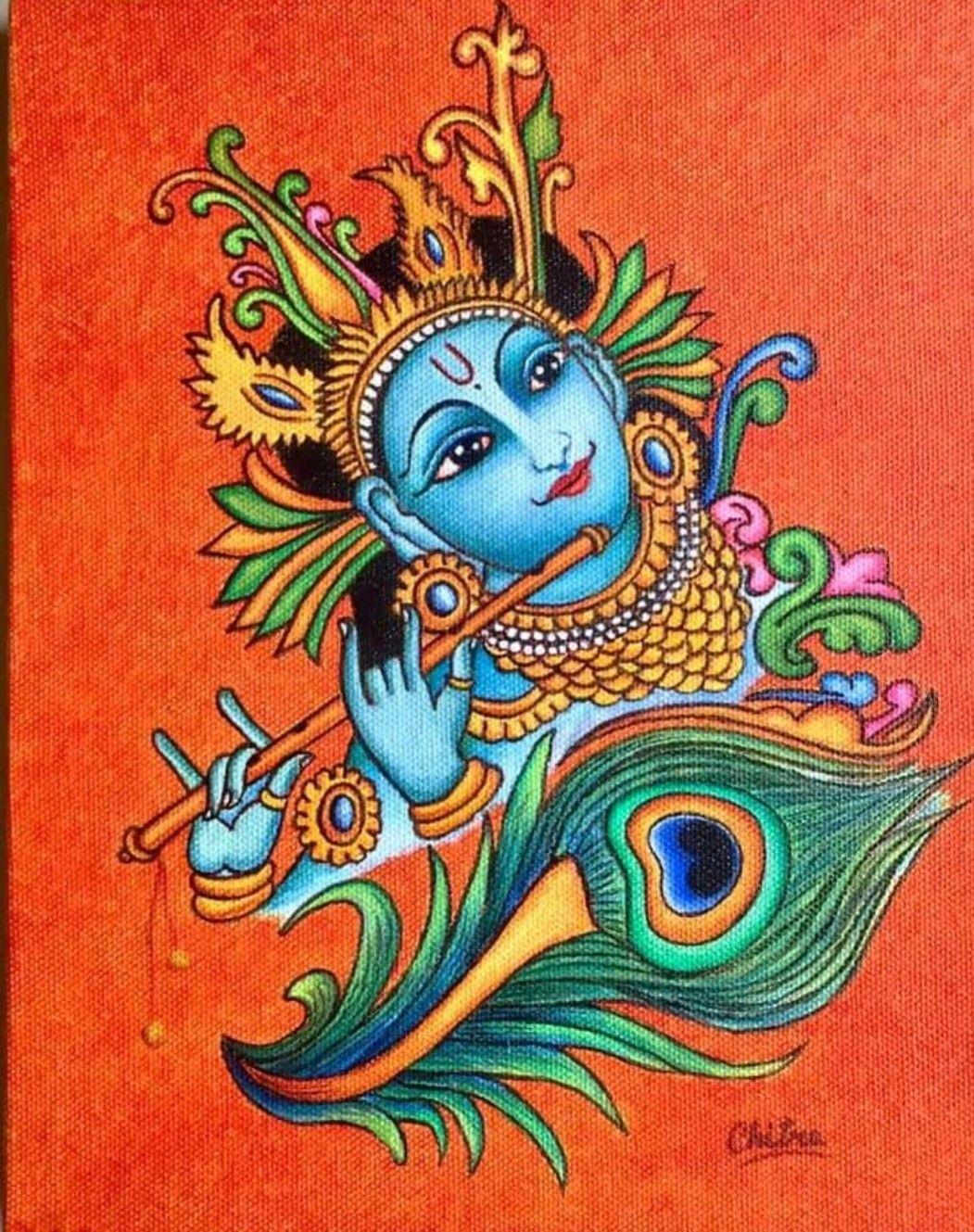 900+ Kerala Mural Paintings ideas in 2021 | kerala mural painting, mural  painting, mural