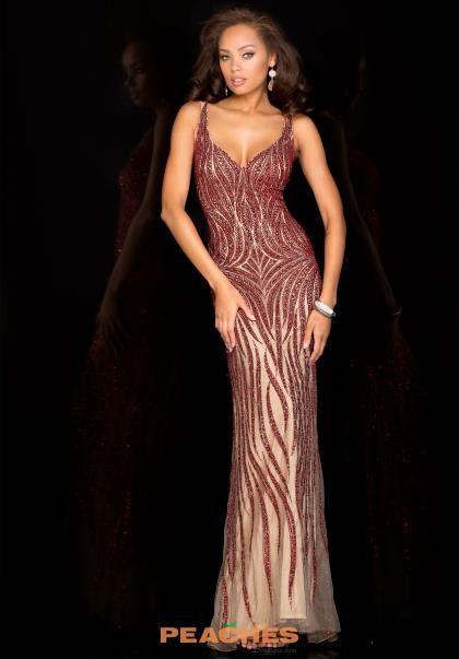 Scala Two Straps Beaded Dress 48554