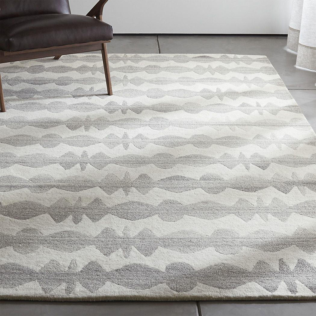 Inspired By Welsh Culture And Craft, Designer Bethan Gray Lines Plush Wool  Rug In A Spindle Motif That Feels Both Graphic And Elegant.
