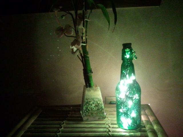 Grolsch bottle lantern diy pinterest bottle for Diy beer can art