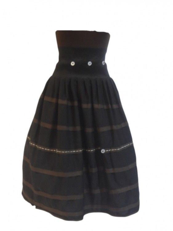 3/4 Hi- waist Retro Skirt | Sun Goddess