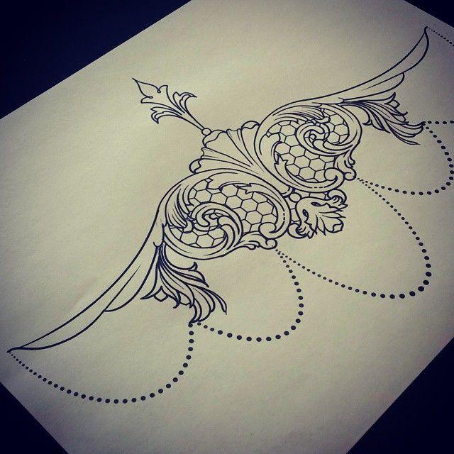 Henna Tattoo Designs Under Breast: Pin On Henna, Tattoos & Piercings
