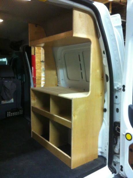Micro Minivan Transit Connect Campervan Builds Camper Conversion